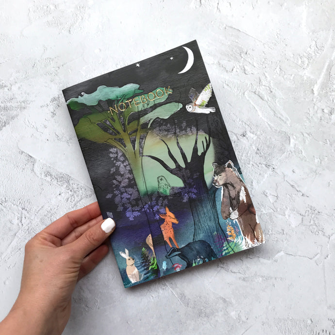 WoodLand Animals Notebook
