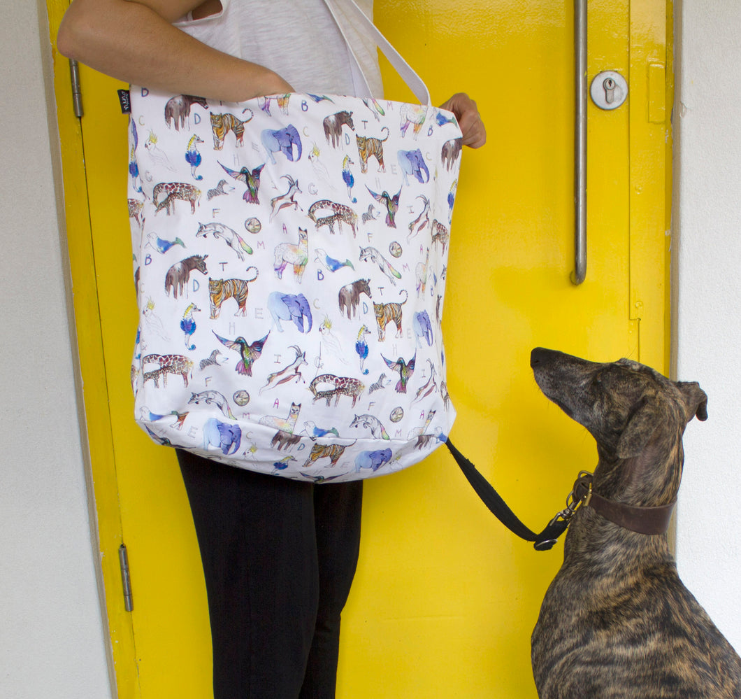 Animal ABC Tote Bag