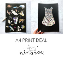 Any Two A4 Size Art Prints Deal
