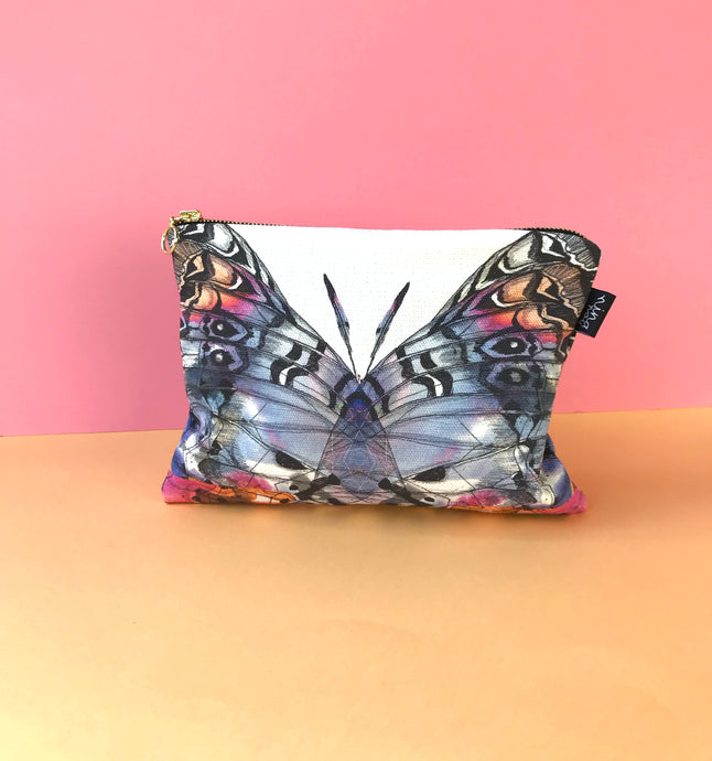 Butterfly Cotton Pouch