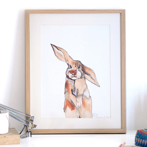 Be My Bunny Art Print