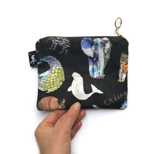 Endangered Animal Coin Purse