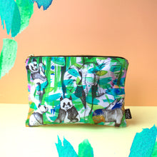 Jungle Cotton Pouch