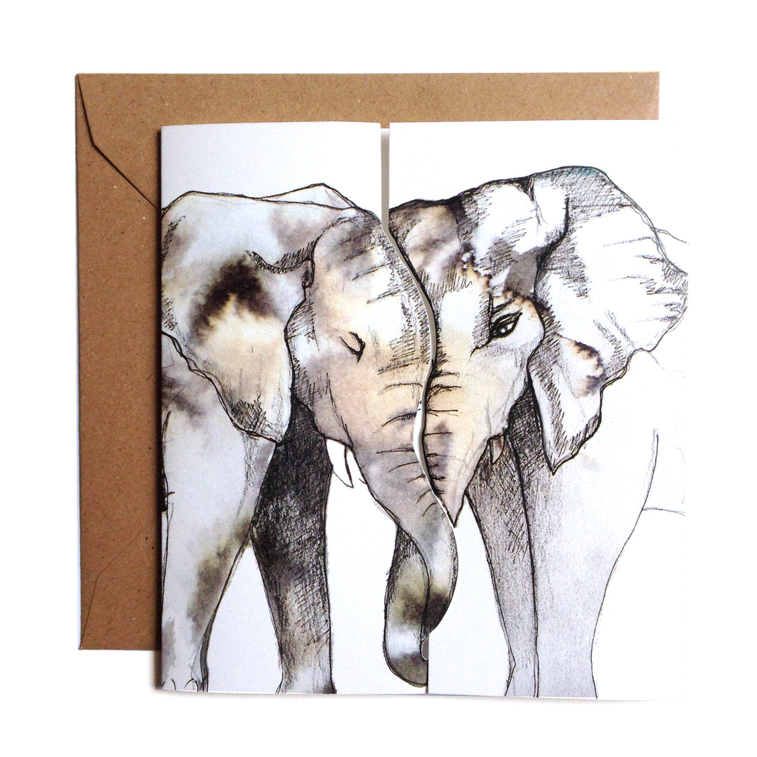 Never Forget, Elephant Kiss Card