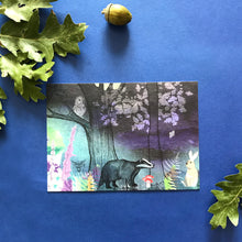 Magical Woodland Postcards Set of Three