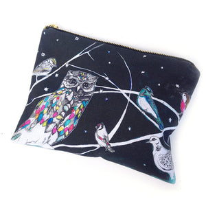 Twit Twoo Cotton Pouch