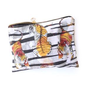 Tiger Tiger Cotton Pouch