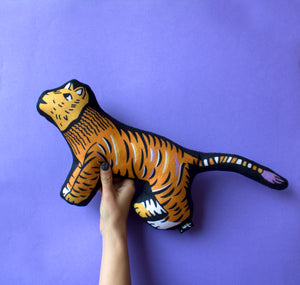 Soft Tiger Cushion