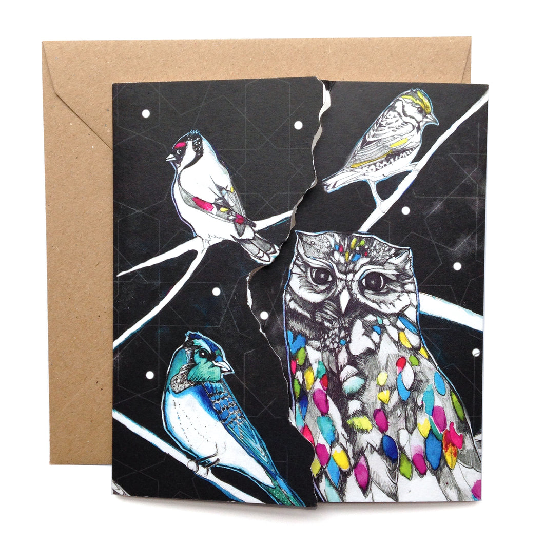 Owl Greetings Card
