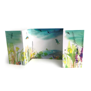 Wild Swimming Panorama Card