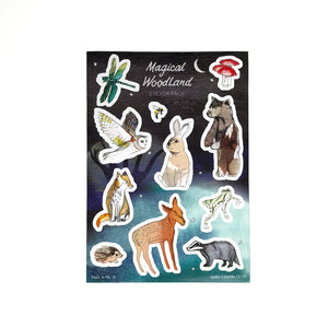 Woodland Animal Sticker Set