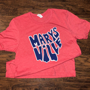 Marysville Tee (Red)
