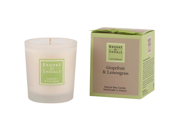 Natural Wax Candle - Grapefruit & Zitronengras