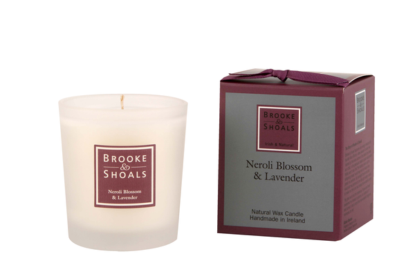 Natural Wax Candle - Neroli Blossom & Lavender