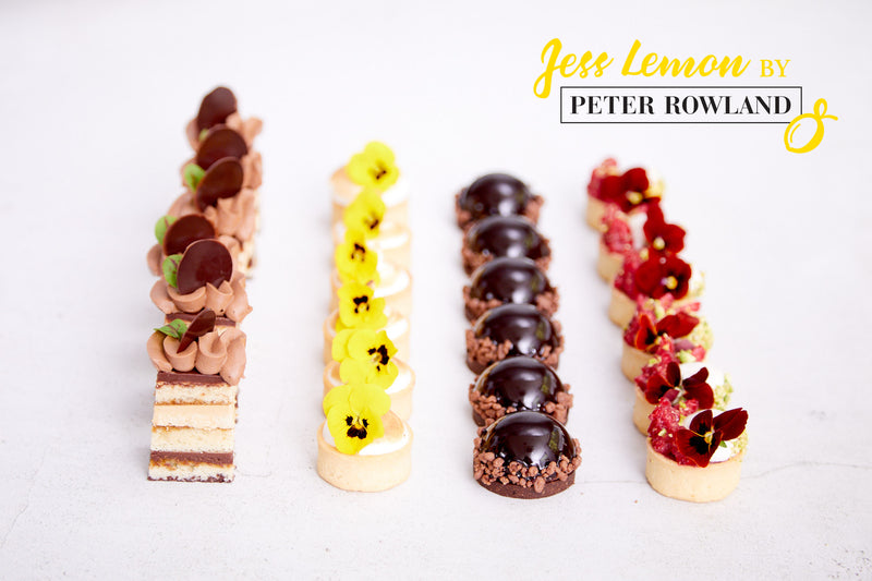 Jess Lemon by Peter Rowland: Canapé Dessert Box