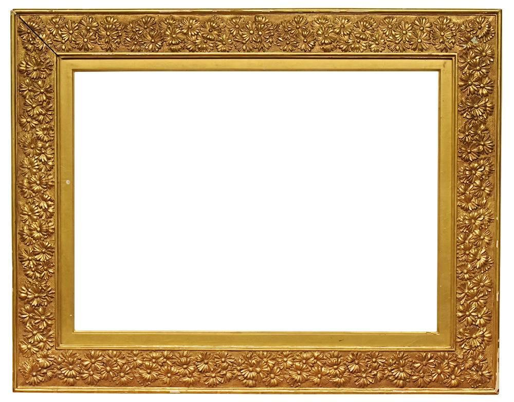 Antique Picture Frame 20x28 Large Gold Vintage Period 1900s 20th