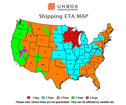 Unbox Shopping Network Shipping ETA