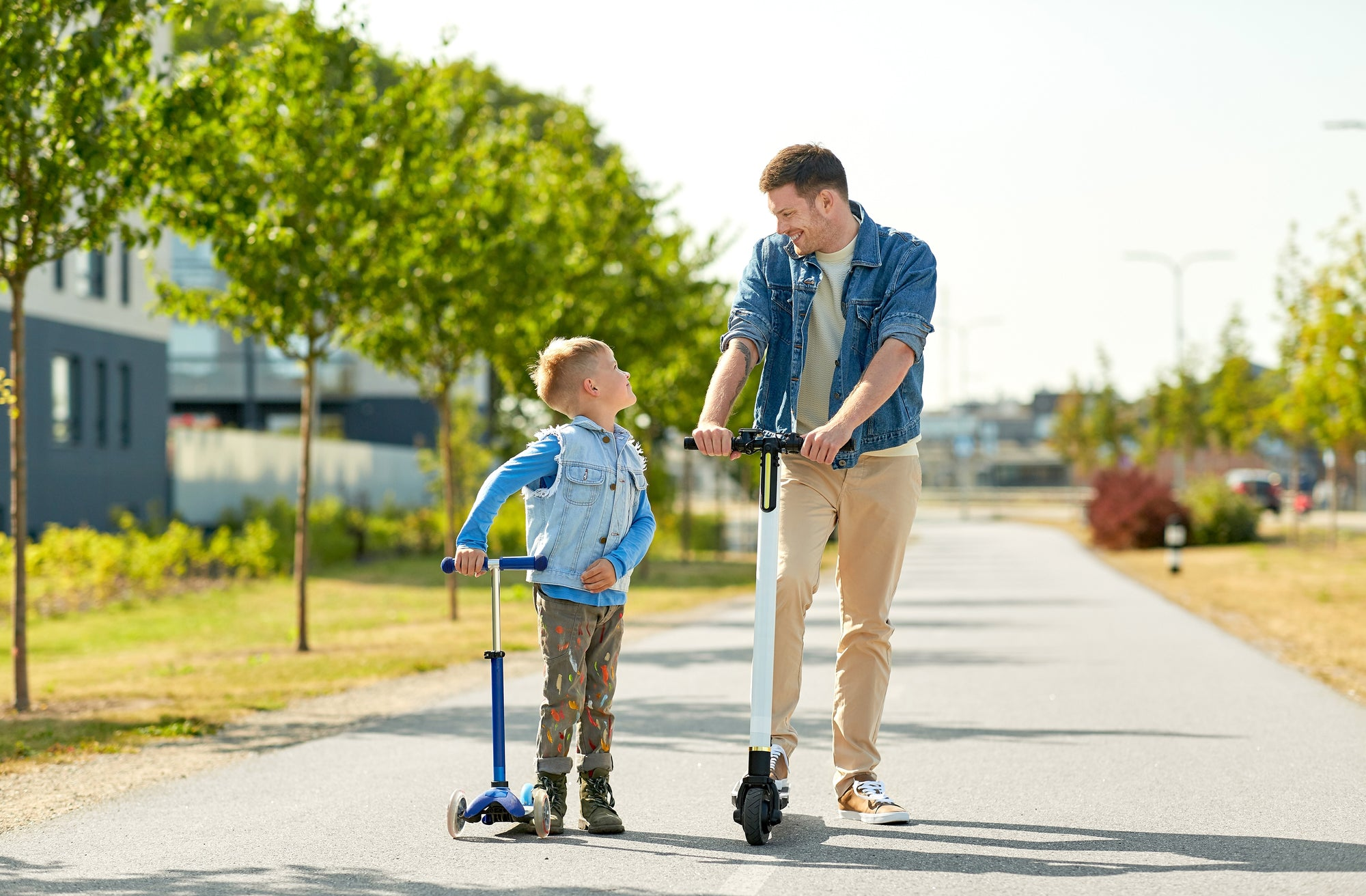 This Father's Day spend quality time biking and scooting with your kids