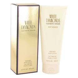White Diamonds Body Lotion By Elizabeth Taylor-Body Lotion-Unbox Shopping Network
