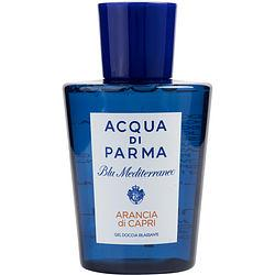 Acqua Di Parma Blue Mediterraneo By Acqua Di Parma Arancia Di Capri Shower Gel 6.7 Oz Fragrance Acqua Di Parma Blue Mediterraneo Default Title