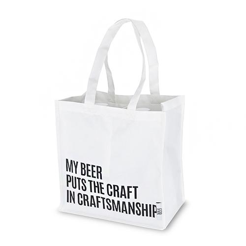Beer Snob Growler Tote By Foster And Rye Reusable Canvas Bags Foster & Rye Default Title