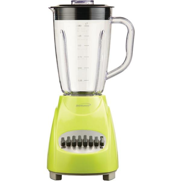Brentwood Appliances 12-Speed Blender With Plastic Jar (Lime Green) Blenders BRENTWOOD APPLIANCES Default Title