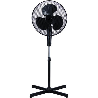 "Brentwood Kool Zone F-16Smw 16"" Oscillating Stand Fan (White) Portable Fans BRENTWOOD KOOL ZONE Default Title"