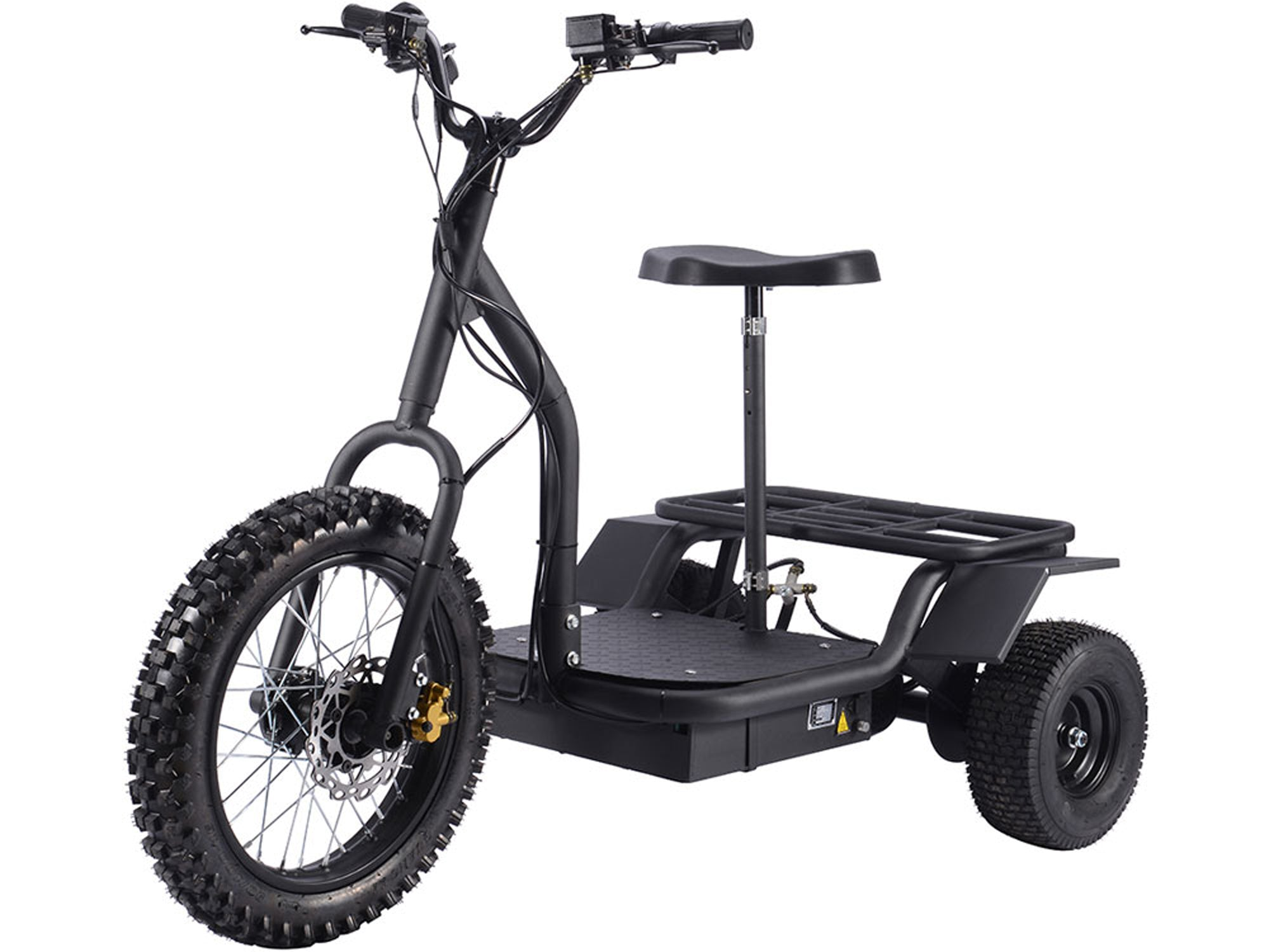Electric Trike 48v 1200w Battery Operated Riding Toy MotoTec