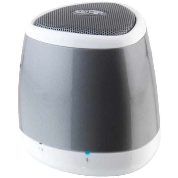 Ilive Blue Isb23S Portable Bluetooth Speaker (Silver) Bluetooth Speakers ILIVE BLUE