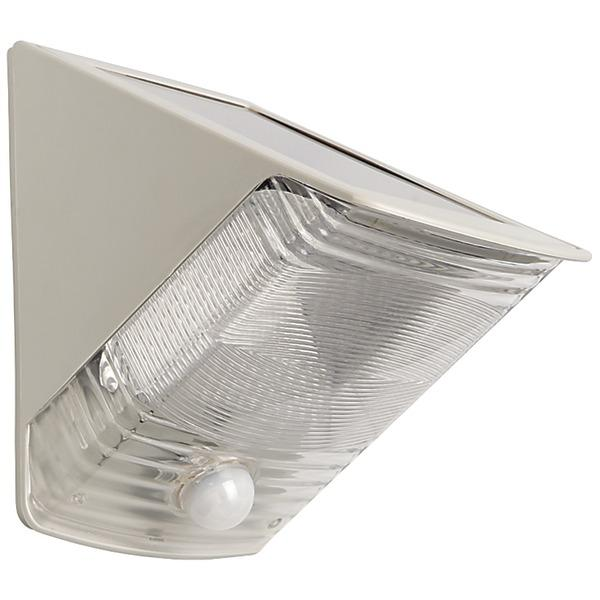MAXSA Innovations 40235 Solar-Powered Motion-Activated Wedge Light (Gray) Other Outdoor Lighting Maxsa(R) Innovations