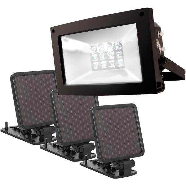 Maxsa Innovations 40331 Solar-Powered Ultrabright Flood Light Other Outdoor Lighting MAXSA(R) INNOVATIONS