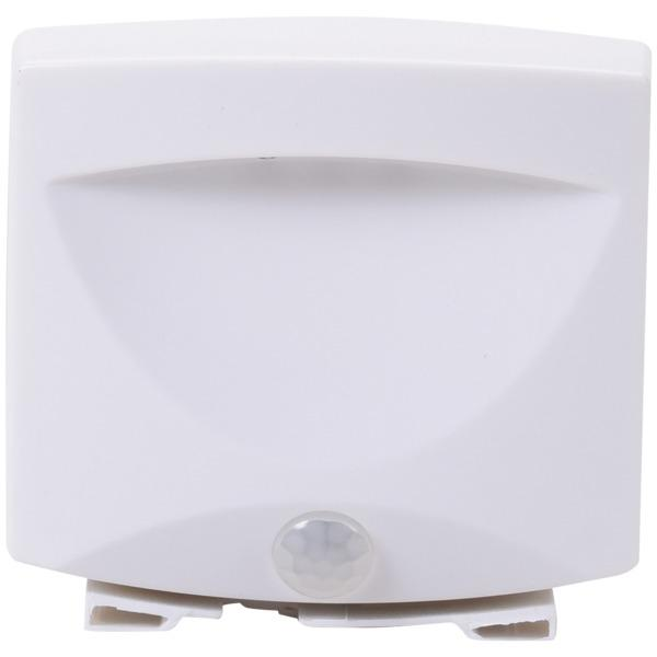 Maxsa Innovations 40341 Battery-Powered Motion-Activated Outdoor Night Light (White) Other Outdoor Lighting MAXSA(R) INNOVATIONS