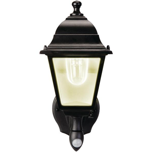 Maxsa Innovations 44219 Motion-Activated Wall Sconce (Black) Other Outdoor Lighting MAXSA(R) INNOVATIONS
