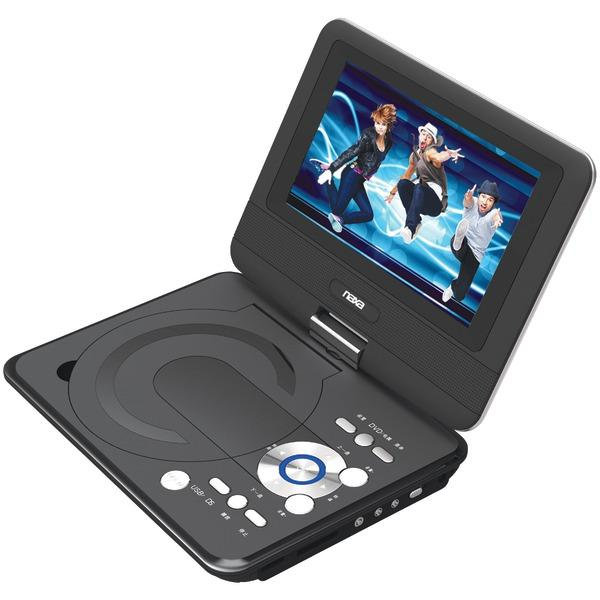 "Naxa Npd952 9"" Tft Lcd Swivel-Screen Portable Dvd Player DVD Players NAXA(R)"