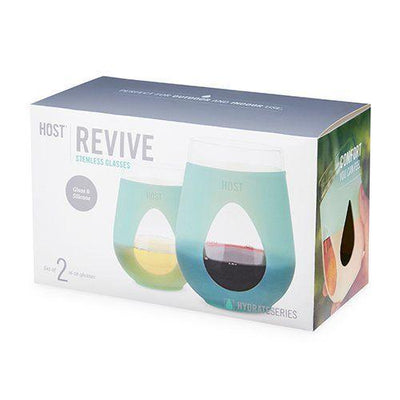 Revive Glass Wine Glass By Host Glass Drinkware Host