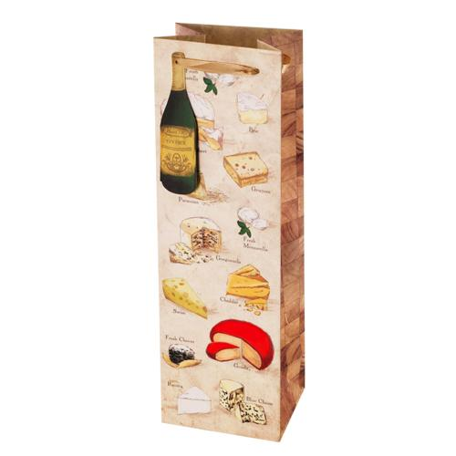 Say Cheese! - Illustrated Wine Bag Single-Bottle Paper Wine Bags Cakewalk (Bags) Default Title