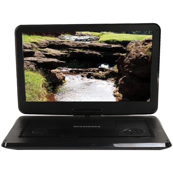 "Sylvania Sdvd1566 15.6"" Swivel Screen Portable Dvd & Media Player DVD Players SYLVANIA(R)"