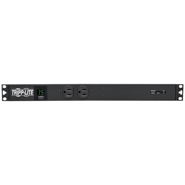 Tripp Lite Pdumh15-Iso 1U Rack-Mount 1.44Kw Single-Phase 15-Amp Metered Pdu With Isobar Surge Suppression Surge Protectors TRIPP LITE(R)