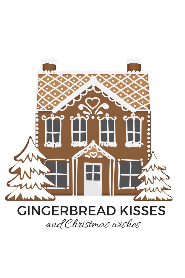 12 x 18 Gingerbread Sign Vertical