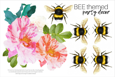 Bee Party Decor Pack