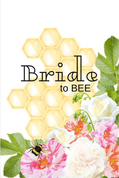 Bride to BEE Sign