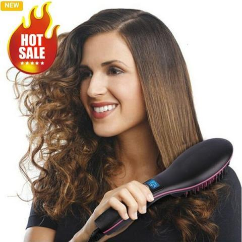 70% off-Hair Brush Straightener