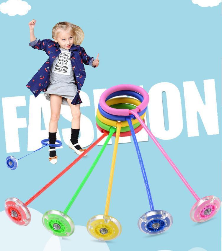 [Best Gift ] - Colorful Flashing Jumping New Skip Ropes (Buy 2 free shipping)
