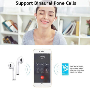 Today 80% off-Bluetooth Earphone with Charging Box
