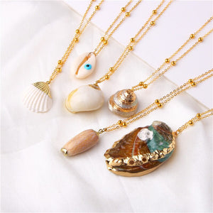 The Boho Beach Necklace Collection