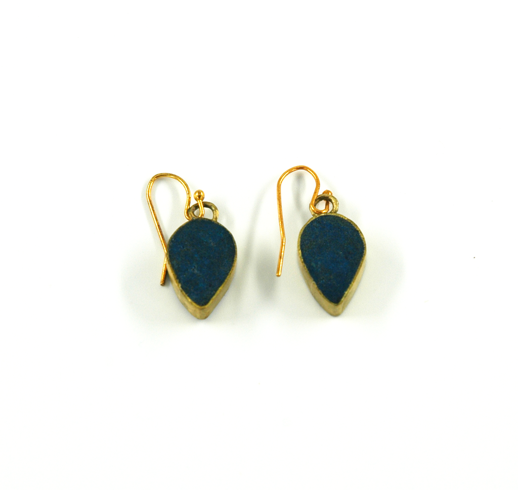 Petal Drop Earring - Indigo