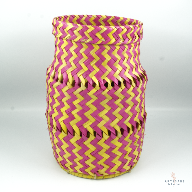 Pink and Gold AmaNiceNice Basket - Mini