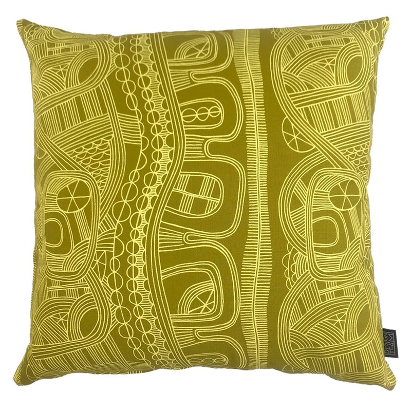 Butter Mbuti Cushion Cover - Artisans Bloom