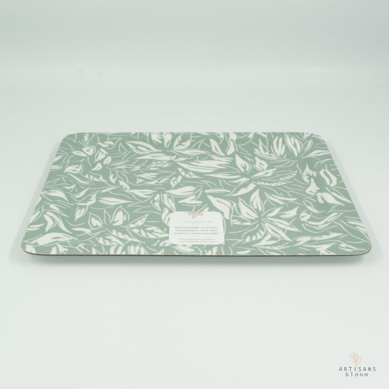 Coffee Tray - Rainforest Duck Egg - Artisans Bloom