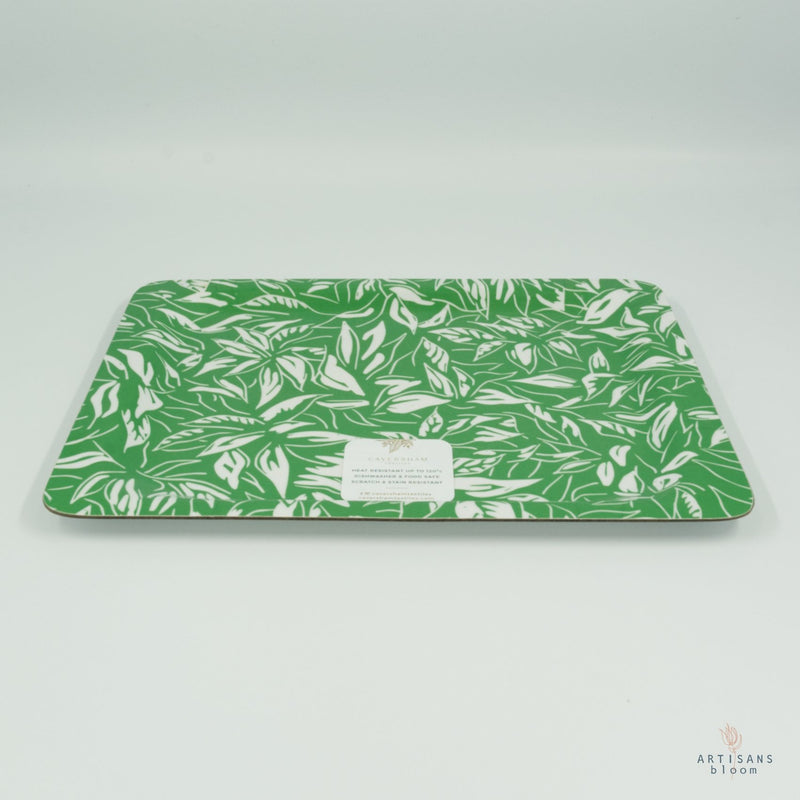 Coffee Tray - Rainforest Emerald - Artisans Bloom